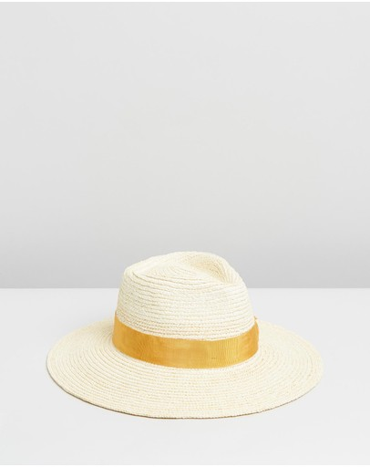 Brixton Joanna Hat Off White