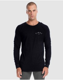 First Division - Core Crest Long Sleeve Tee