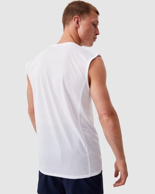 Cotton On Active Tech Muscle - Muscle Tops (White)