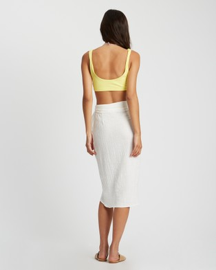 ST MRLO Naples Skirt - Skirts (White)