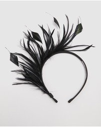 Max Alexander - Feather Crown Fascinator