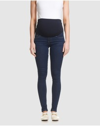 Soon Maternity - Overbelly Skinny Jeans