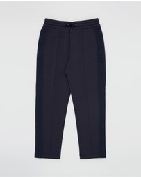 Emporio Armani - Logo Tape Trackpants - Kids-Teens