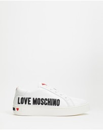 LOVE MOSCHINO - Graphic Rubber Sneakers