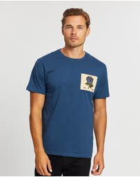 Kent and Curwen - Short Sleeve Rose Tee