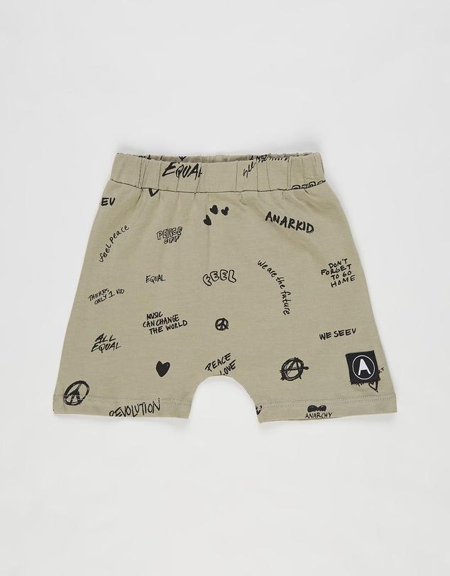 Kids Peace AOP Baby Shorts - Babies