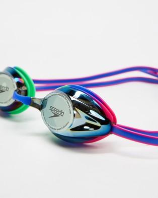Speedo Opal Mirror Goggles - Goggles (Trick & Neon Pink)