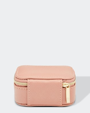 Louenhide Suzie Jewellery Box - Travel and Luggage (Pale Pink)