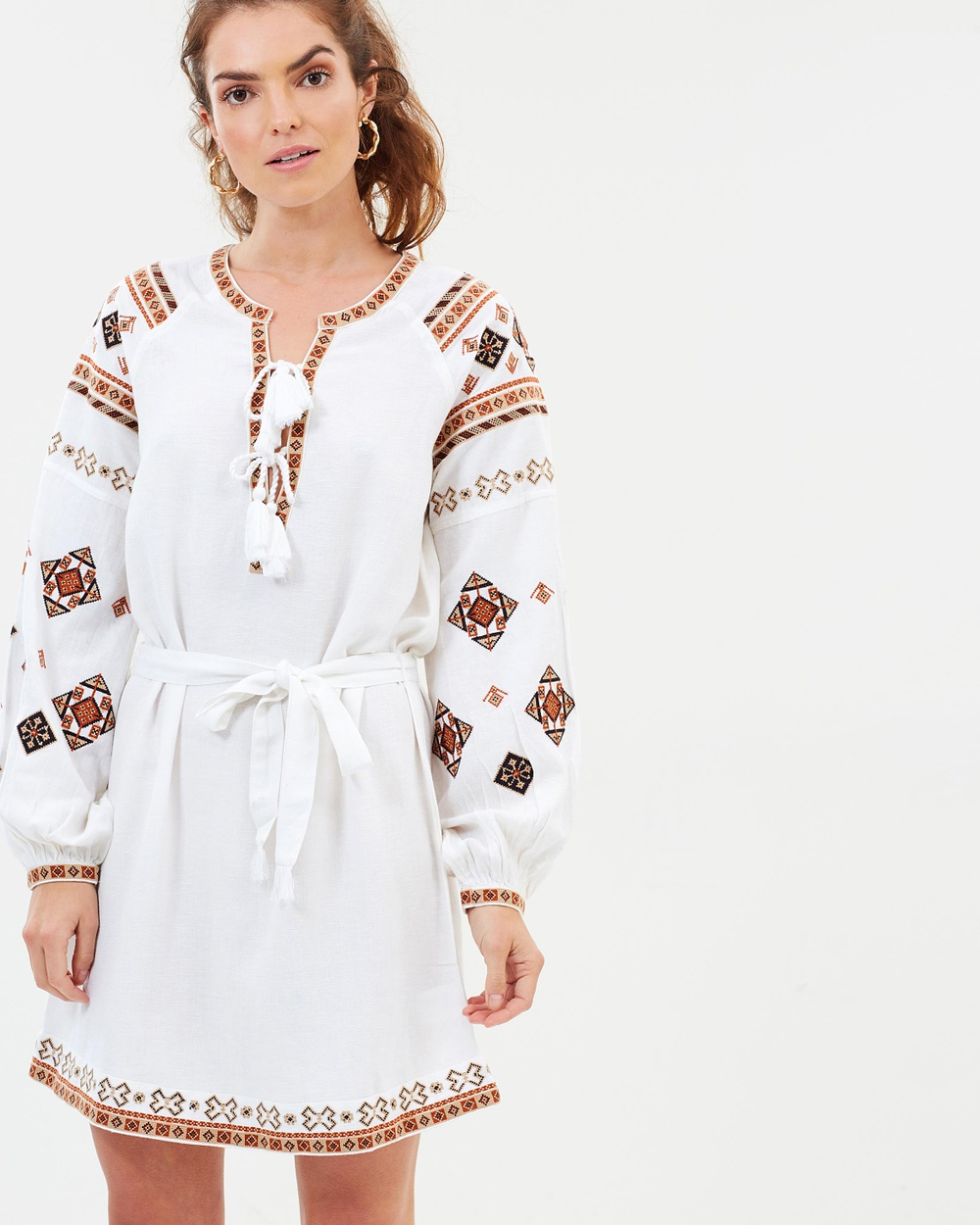 Tigerlily Azar Dress Dresses White Azar Dress
