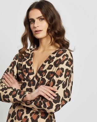 Pasduchas Feline Dress - Dresses (Caramel)