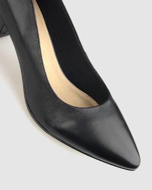Airflex Sabrina Block Heel Pumps - All Pumps (Black)