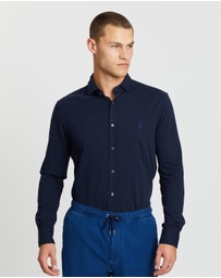 Polo Ralph Lauren - Long Sleeve Como Textured Knit Shirt