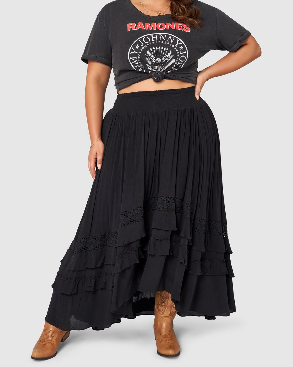 Frontier Maxi Skirt by The Poetic Gypsy Online   Ietp   Australia