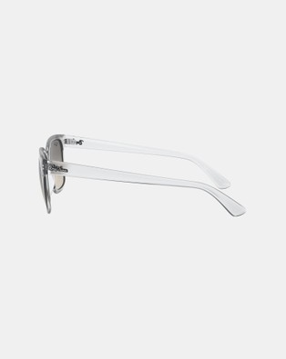 RaBan - Injected Sunglasses   Unisex - Square (Clear)