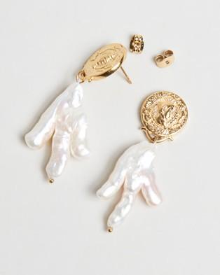 Amber Sceats - Shelby Earrings - Jewellery (Gold) Shelby Earrings