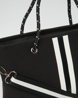 Miz Casa and Co Beverly Neoprene Mini Tote Bag - Bags (Black)