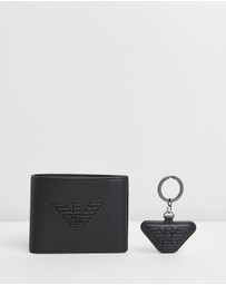 Emporio Armani - Wallet & Key Ring Gift Set