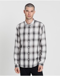 Vince - Double Face Plaid LS Shirt