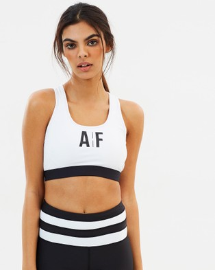 All Fenix – AF Logo Crop – Crop Tops (White & Black)