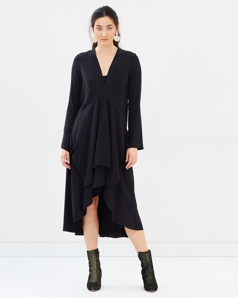 KITX Provider Puzzle Dress Dresses Black Provider Puzzle Dress