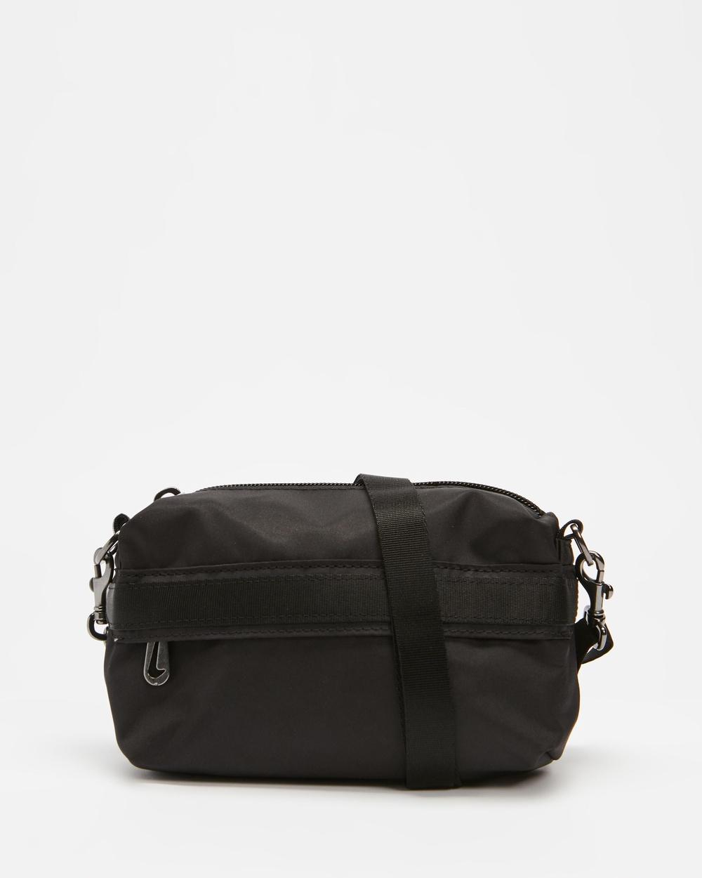 Nike Futura Luxe Crossbody Bum Bags Black, Black & Dark Smoke Grey