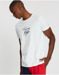 Tommy Hilfiger - Signature Logo Organic Cotton T-Shirt