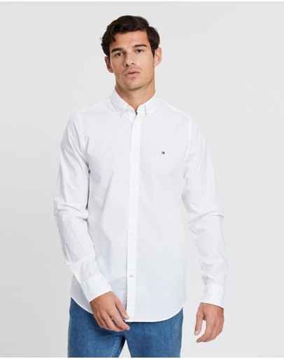 Tommy Hilfiger - Core Stretch Slim Poplin Shirt