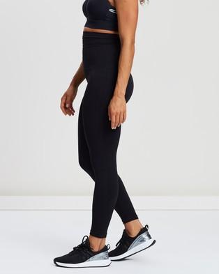 Spanx High Waist Look At Me Now Seamless Leggings Pants Very Black High-Waist