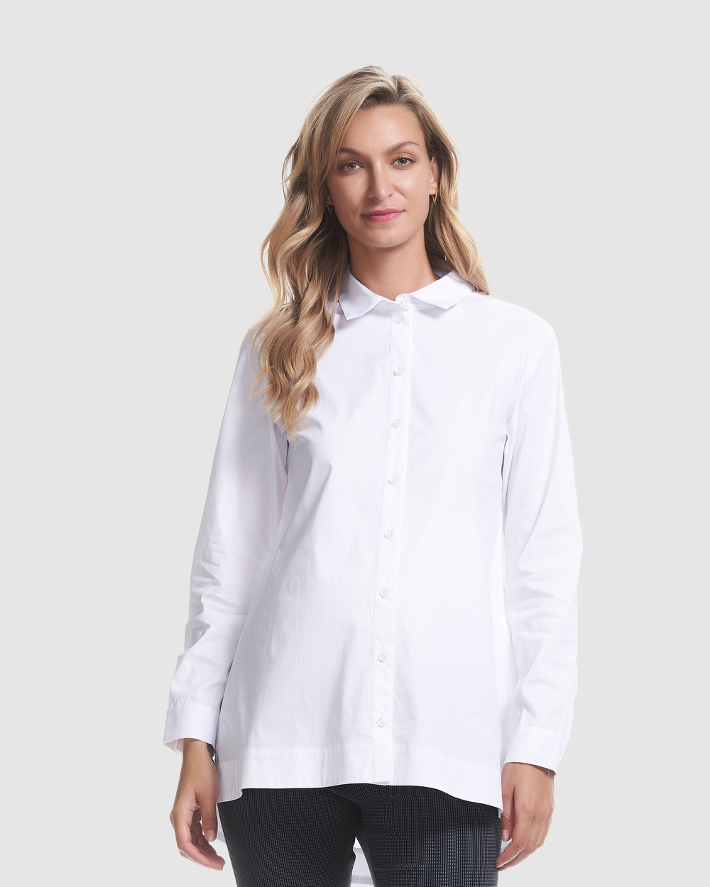 Soon Maternity Essential Maternity Shirt Tops White Essential Maternity Shirt