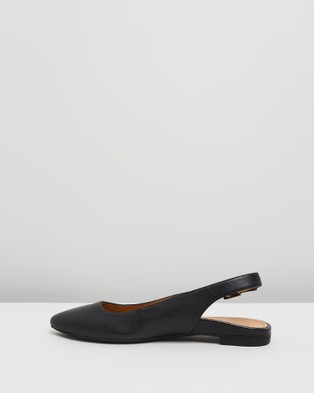 Vionic Jade Slingback Flats - Flats (Black)