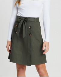 Atmos&Here - Belted Skirt