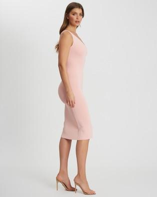 Tussah - Arielle Knit Dress - Bodycon Dresses (Pale Pink) Arielle Knit Dress