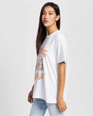 All About Eve Blushing Tee - T-Shirts & Singlets (White )