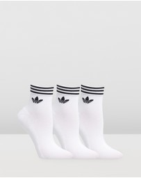 adidas Originals - Trefoil Ankle Socks 3-Pack