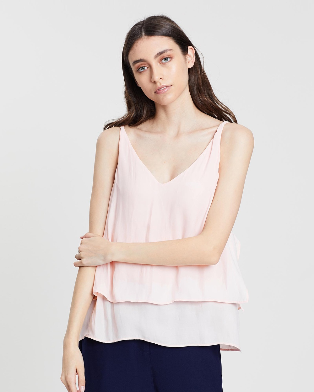 Grace Willow Everly Top Tops Peony Everly Top