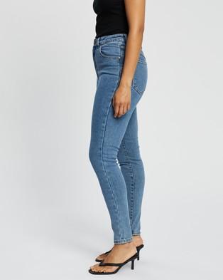Abrand A High Skinny Ankle Basher Jeans - High-Waisted (LA Blues)