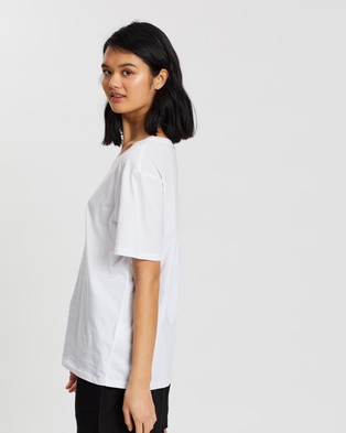Assembly Label Essential Cotton Crew Tee - T-Shirts & Singlets (White)