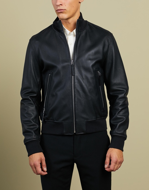 BOSS - Neovel Leather Jacket