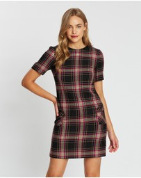 Dorothy Perkins - Check Pocket Shift Dress