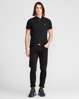 Polo Ralph Lauren Basic Mesh Short Sleeve Knit Polo - Shirts & Polos (Polo Black)