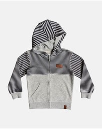 Quiksilver - Boys 2-7 Big 2 Do Zip Hoodie