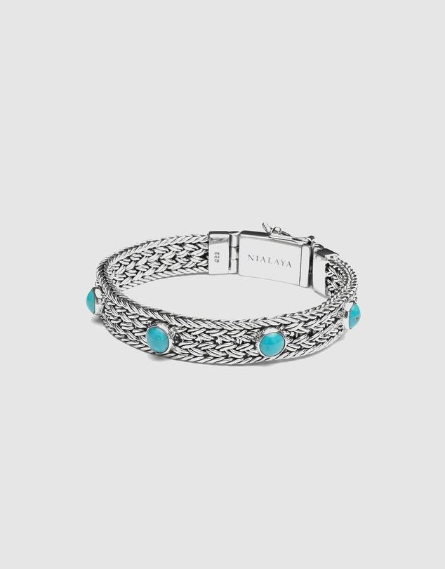 Men Men's Braided Chain Bracelet