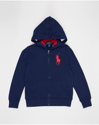 Polo Ralph Lauren - Full-Zip Terry Hoodie - Teens