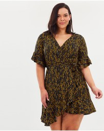 Atmos&Here Curvy - Alexandria Wrap Dress