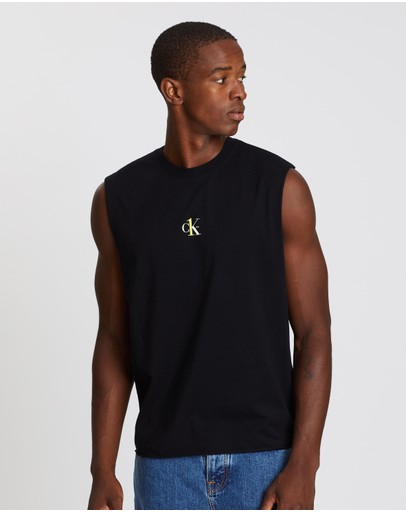 Calvin Klein Jeans - CK One Small Logo Regular Sleeveless Tee