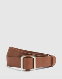 French Connection - Square Buckle Belt