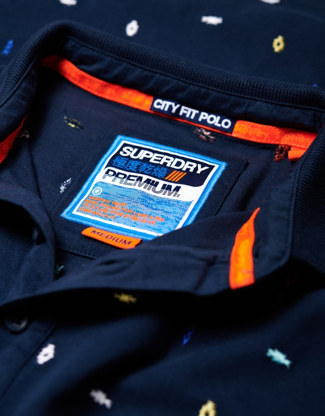 Superdry - City State Embroidery Polo Shirt