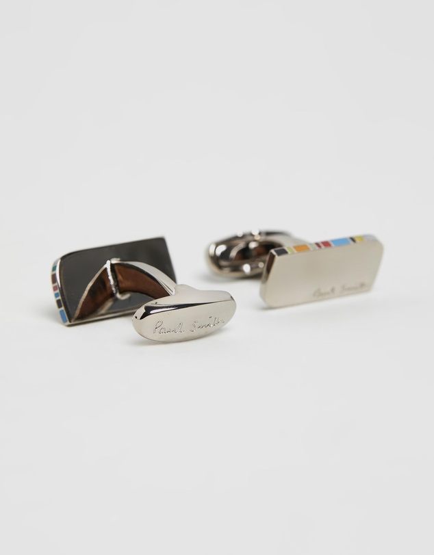 Paul Smith - Stripe Cufflinks