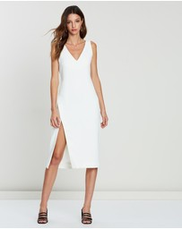 FRIEND of AUDREY - Maja Midi Split Dress