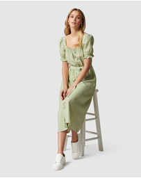 Forever New - Corinna Puff Sleeve Midi Dress